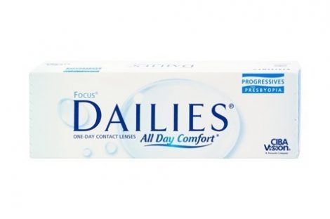 Focus Dailies All Day Comfort Progressives (30 lenses)